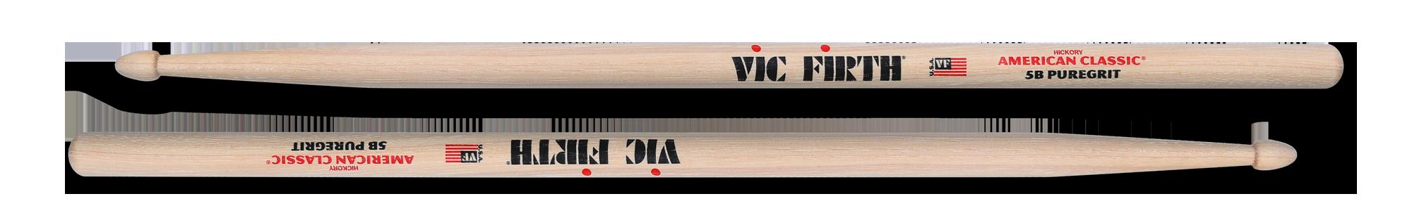 Vic Firth 5A Pure Grit Wood Tip Drum Sticks VF-5APG